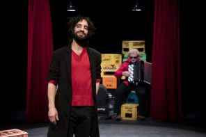 David Murgia in Laika (photo: Giovanni Cittadini Cesi)