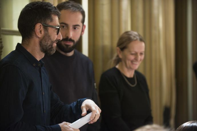 Francesco Alberici, Daria Deflorian e Antonio Tagliarini (photo: Elizabeth Carecchio)