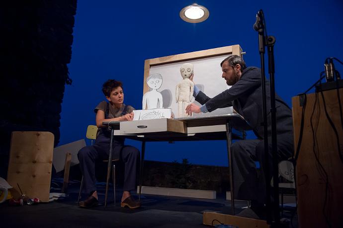 L'altro giorno di Teatro Elettrodomestico (photo: Alvise Crovato)