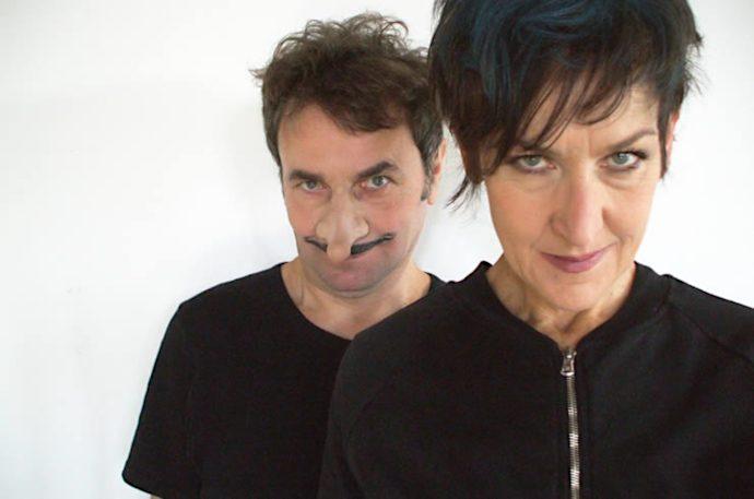 Roberto Scappin e Paola Vannoni per il debutto de Il racconto delle cose mai accadute (photo: quotidianacom.it)