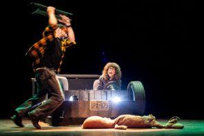 Cervus di Lumik Teatro. Sangue per un dramma da camera