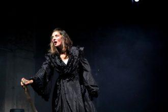 Lorena Senestro in Le confessioni di Monica a Sant'Agostino (photo: M. Pastorello)