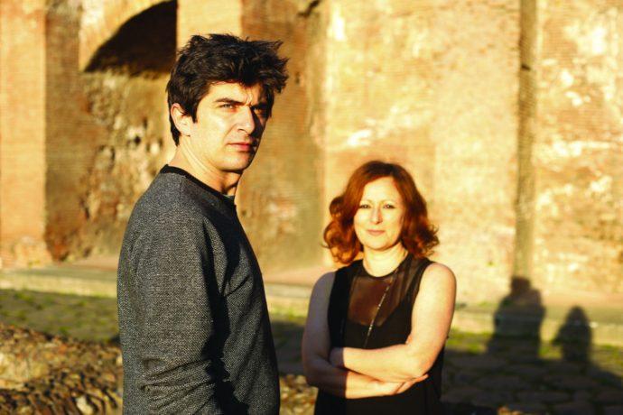 Tamara Bartolini e Michele Baronio (photo: romaeuropa.net)