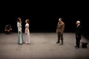 I protagonisti di Antigone (photo: Duccio Burberi)