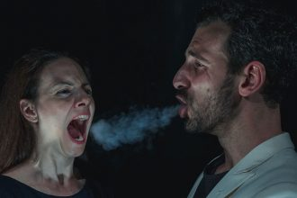 Laura Serena e Davide Pachera (photo: campoteatrale.it)