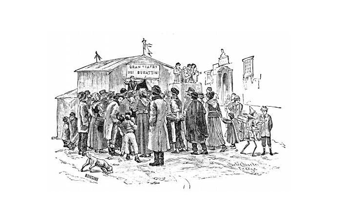 Pinocchio illustrato da Carlo Chiostri