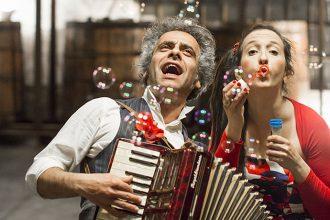 Marta Marangoni e Fabio Wolf (photo: Matteo Carassale)