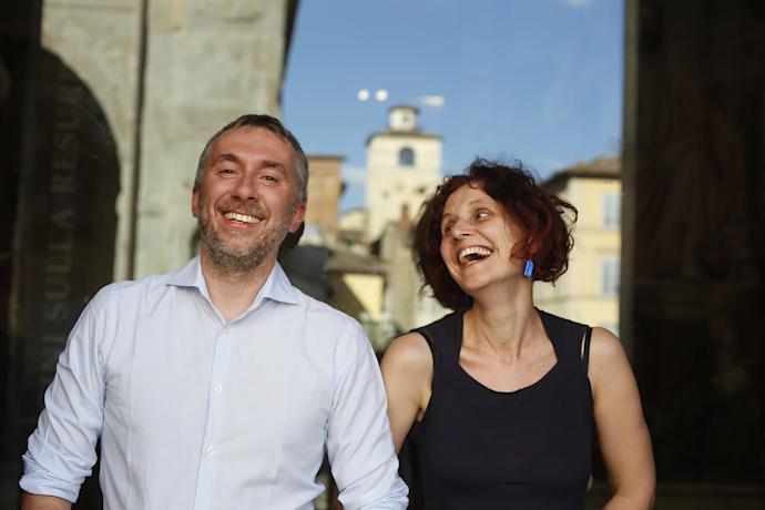 Luca Ricci e Lucia Franchi (photo: Luca Del Pia)