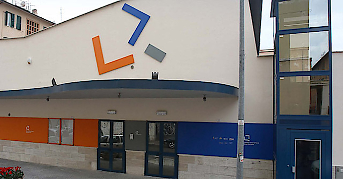 Il Teatro Biblioteca Quarticciolo (photo: teatriincomune.roma.it)