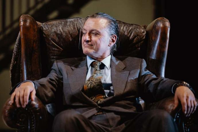 Binasco ne L'intervista (photo: Luigi De Palma)