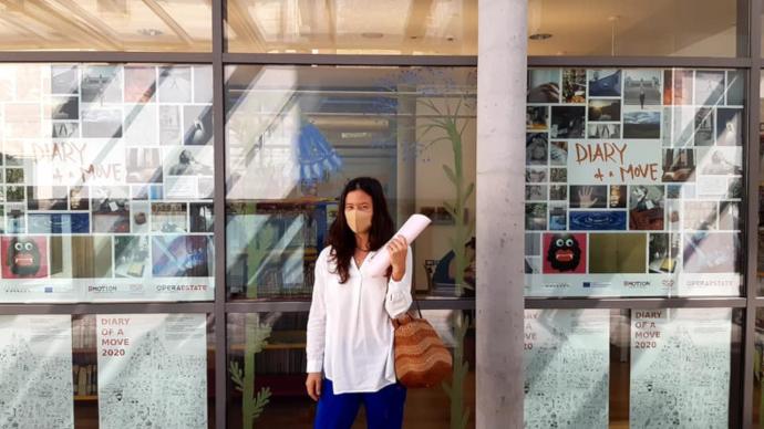 Masako Matsushita ha donato alla Città di Bassano del Grappa l'archivio di Diary of a move, un patrimonio di movimenti, gesti, coreografie tracciate da cittadini artisticamente e socialmente connessi durante il lockdown