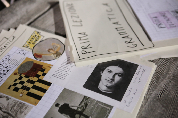Appunti per la regia tra i cahiers di Fabio Condemini (photo: Futura Tittaferrante)