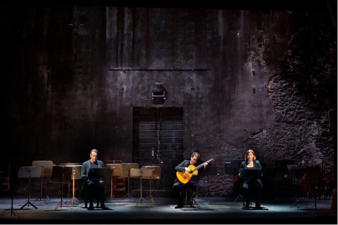 Fuga a tre voci (photo: teatrodidioniso.it)