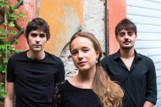 Alessandro Bay Rossi, Marina Occhionero e Dario Caccuri de Il Crepuscolo (photo: Leo Merati)