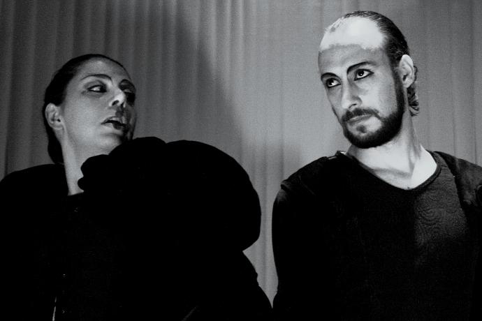 Giorgia Cerruti e Davide Giglio della Piccola Compagnia della Magnolia