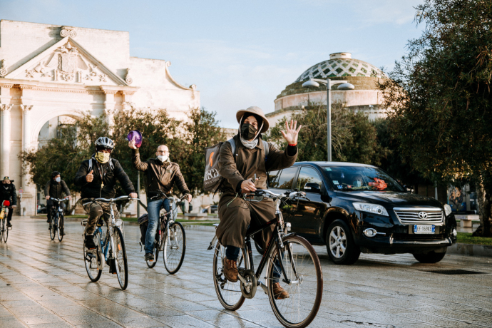 I rider teatrali (photo: Lucia Pagliara)