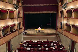 Un momento della passata edizione al Teatro Sanzio