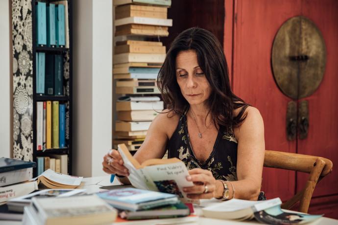 Lucia Calamaro fotografata da Guido Mencari