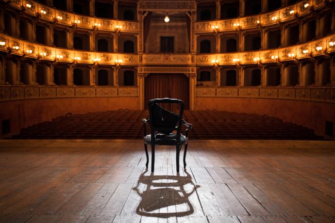 Andrea Baracco | Giulio Cesare | Pisa, 2013 (photo: Guido Mencari)