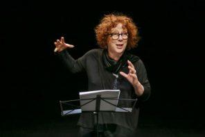 Laura Curino (photo: Giorgio Sottile)