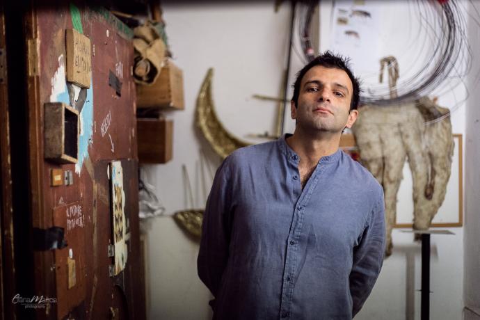 Luigi D'Elia (photo: Eliana Manca)
