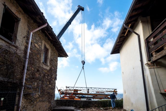 L'inizio dei lavori (photo: Alvise Crovato)