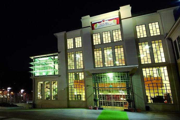 La struttura dell'attuale Casa del TRG (photo: casateatroragazzi.it)