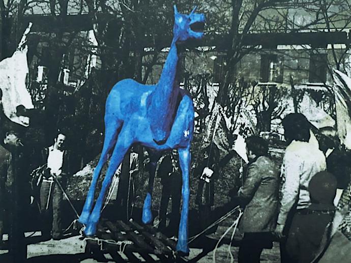 Marco Cavallo, simbolo della liberazione dalle mura dei manicomi