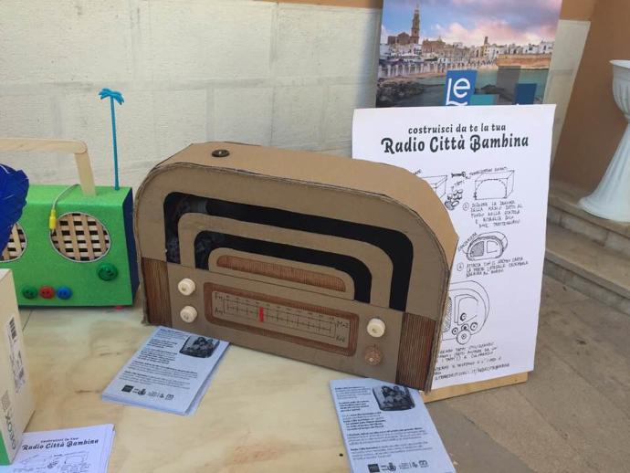 Il progetto Radio Città Bambina a Maggio all'infanzia
