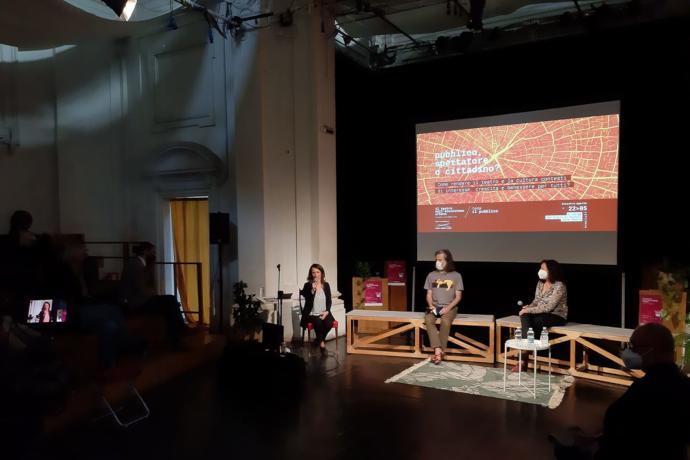 Il sabato si è concluso a San Pietro in Vincoli Zona Teatro con un panel dedicato al ruolo dello spettatore
