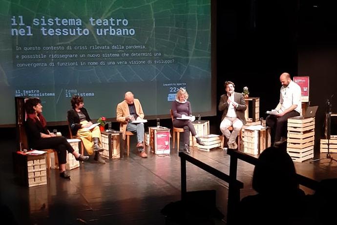 A Bellarte con il panel ospitato da Tedacà