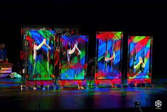 Uno spettacolo di Visioni di futuro, visioni di teatro...